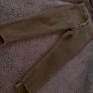 Topshop Black washed Joni jeans W28L30
